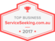 Hard Work Pays off...Top Business 2017 Award by Service Seeking