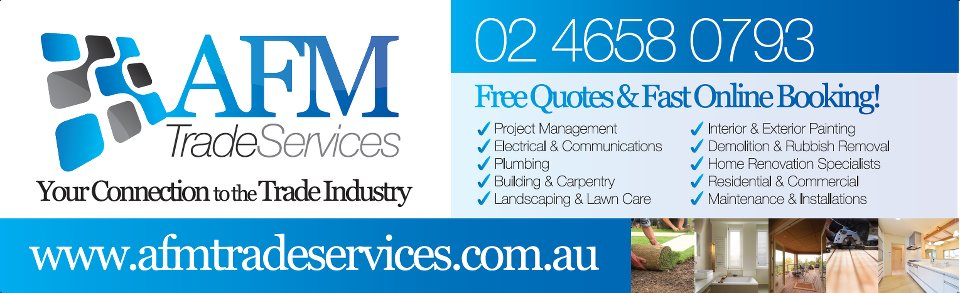 AFM Trade Services – Camden NSW – Read Reviews
